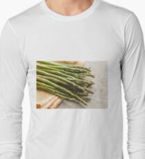 Fresh Asparagus Long Sleeve T-Shirt