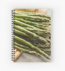 Fresh Asparagus Spiral Notebook