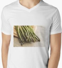 Fresh Asparagus Men's V-Neck T-Shirt