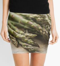 Fresh Asparagus Mini Skirt