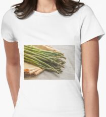 Fresh Asparagus Women's Fitted T-Shirt