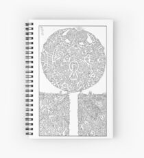 Anfractuous Piacularity #XXIII Spiral Notebook