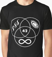 Hitchhikers Guide To The Galaxy 42 Graphic T-Shirt