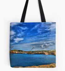 Braye Harbour, Alderney Tote Bag
