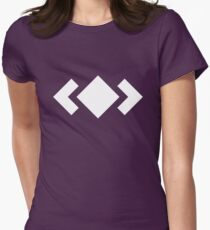 Madeon Adventure Logo - White Womens Fitted T-Shirt