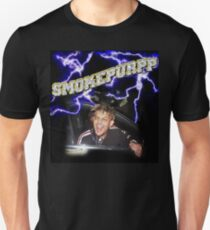 Camiseta unisex Smokepurpp Lightning Rockstar VVS diamantes