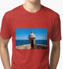 Castillo San Felipe del Morro. Tri-blend T-Shirt