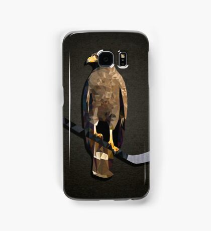 Polyhawk on Black Samsung Galaxy Case/Skin