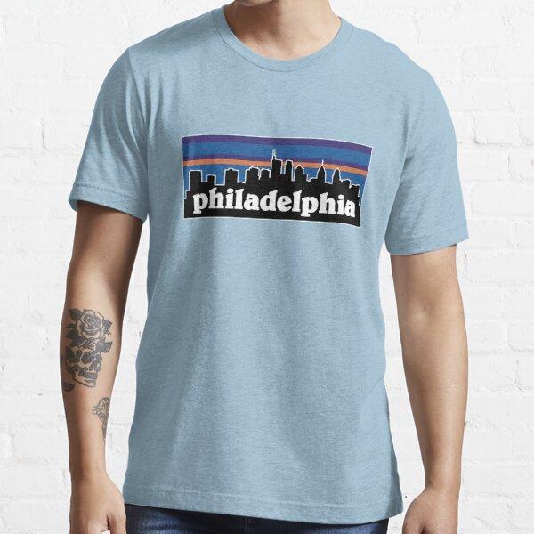 Philadelphia Sunset Skyline Design Essential T-Shirt