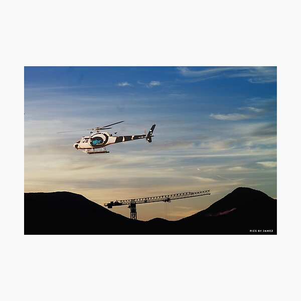 GBR scenic helicopter flights Cairns Photographic Print