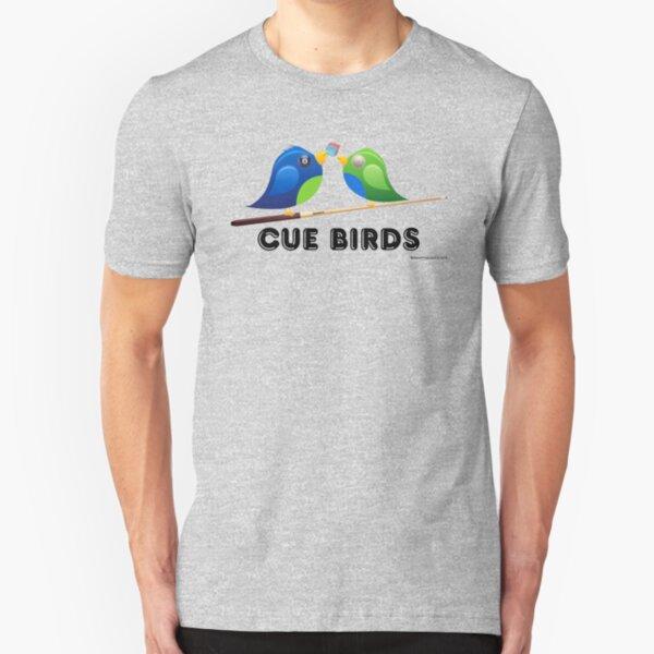 CUE BIRDS Slim Fit T-Shirt