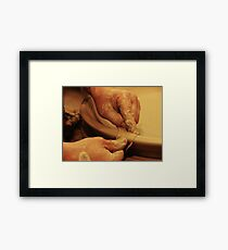Ceramics. Framed Print