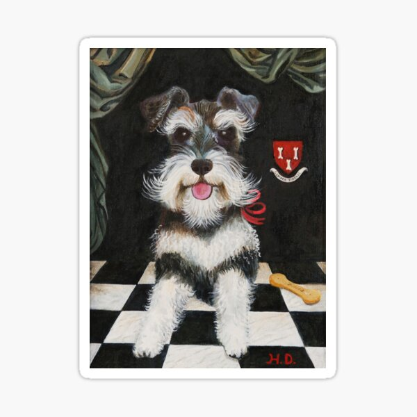 Sir Schnauzer Sticker