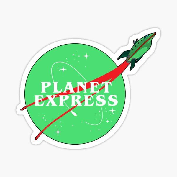 Planet Express Logo Sticker