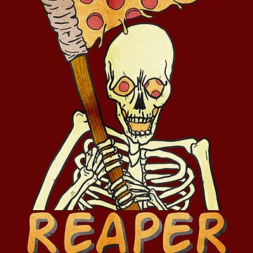 Reaper of Pizza by Kaijester