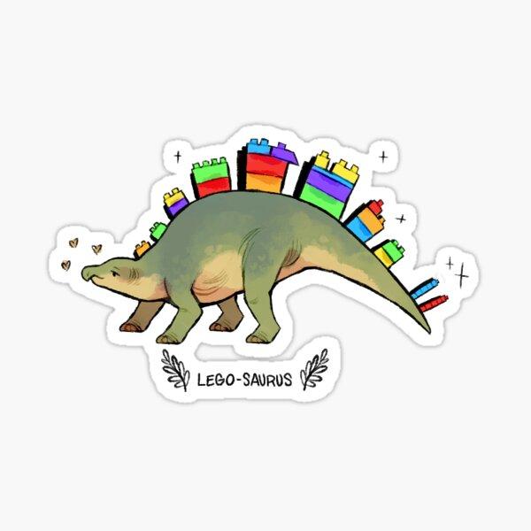 Lego-saurus Sticker