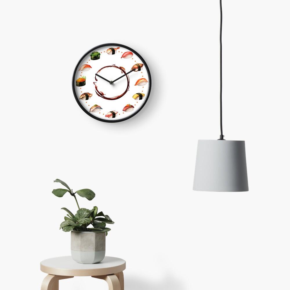 Nigiri, Please - The Sushi Menu You Can Wear! Clock