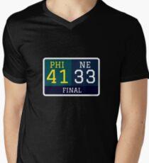 Final Score Men's V-Neck T-Shirt