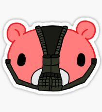 Gloomy Bane Head Sticker