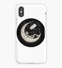 Man In The Moon iPhone Case/Skin