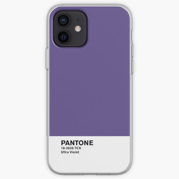 Pantone ultravioleta Funda blanda para iPhone