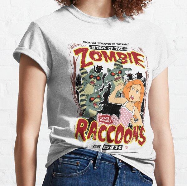 Zombie Raccoons Camiseta clásica