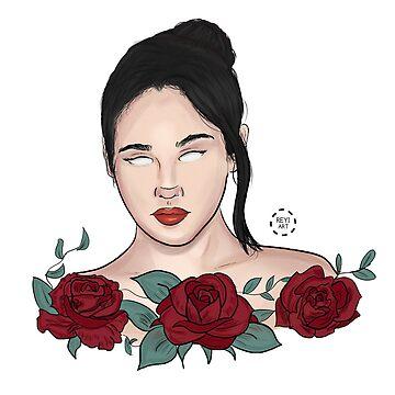 Lauren Jauregui Roses by reginx