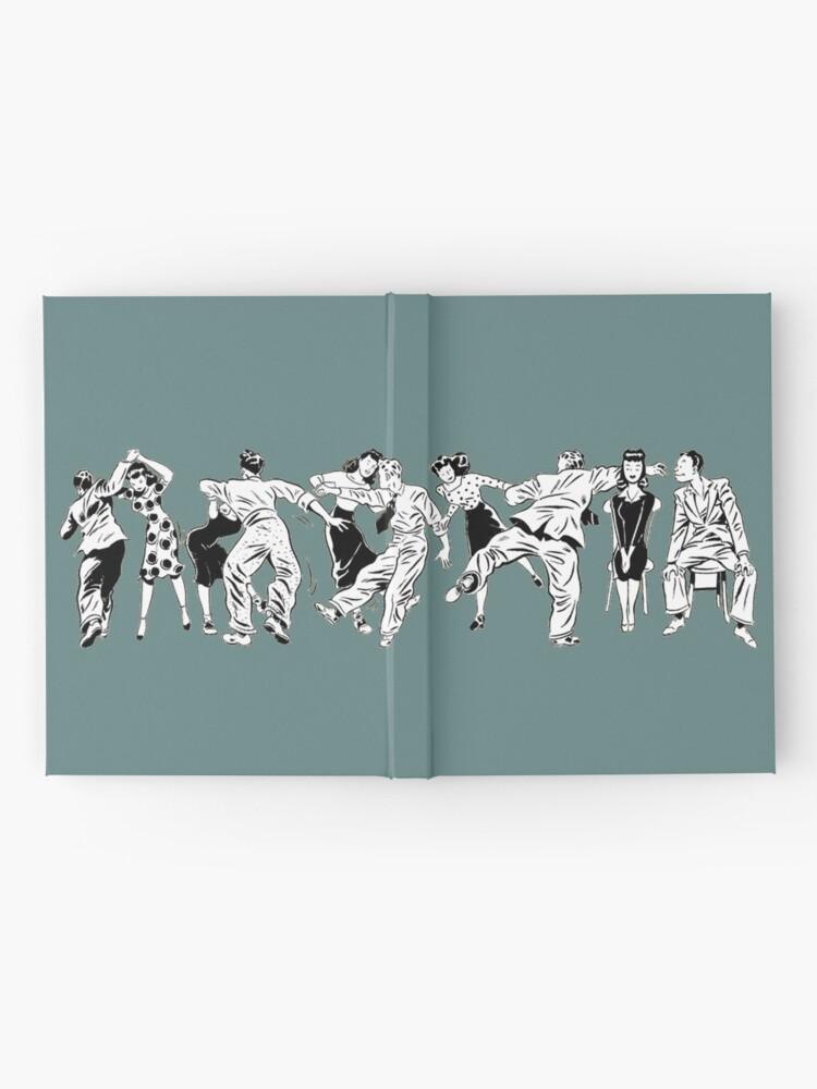 Alternative Ansicht von Swing Tanzparty Notizbuch