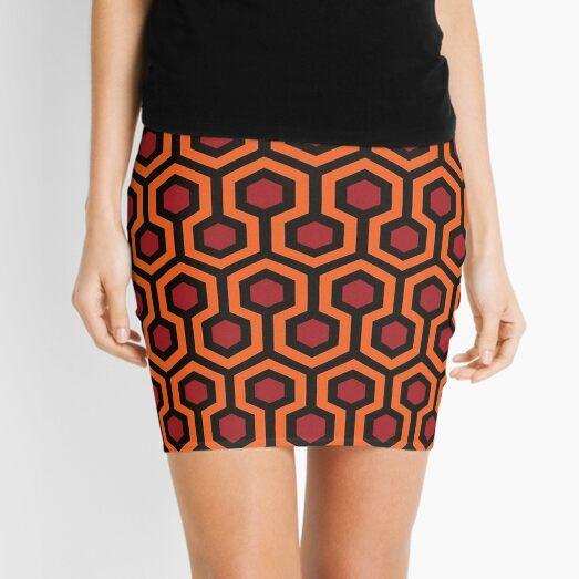 Overlook Hotel Carpet The Shining Mini Skirt