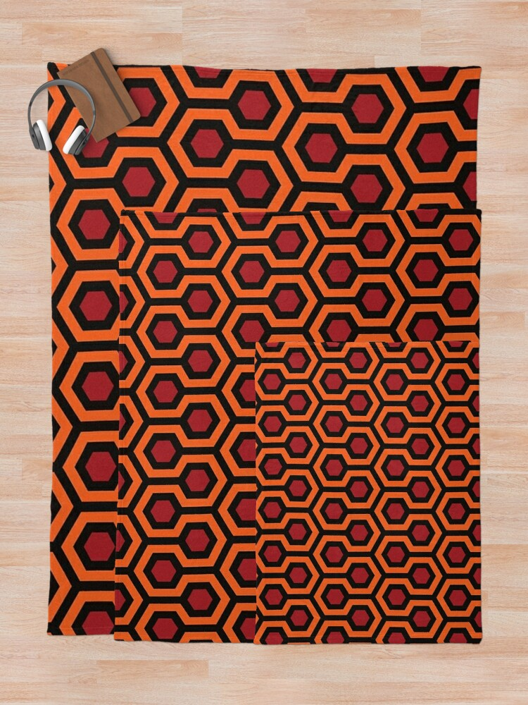 Alternate view of Overlook Hotel Carpet The Shining Throw Blanket