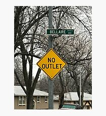 No outlet Bellaire Photographic Print