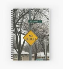No outlet Bellaire Spiral Notebook