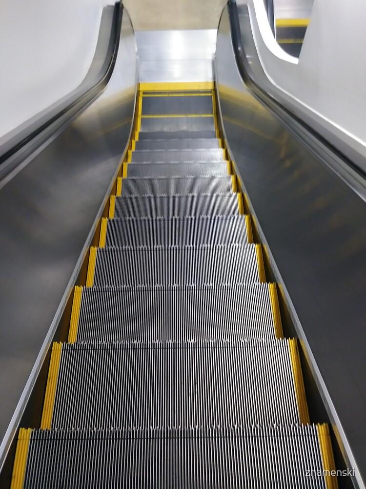 Escalator by znamenski