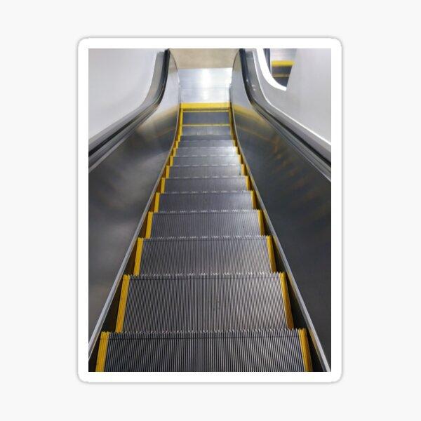 Escalator Sticker
