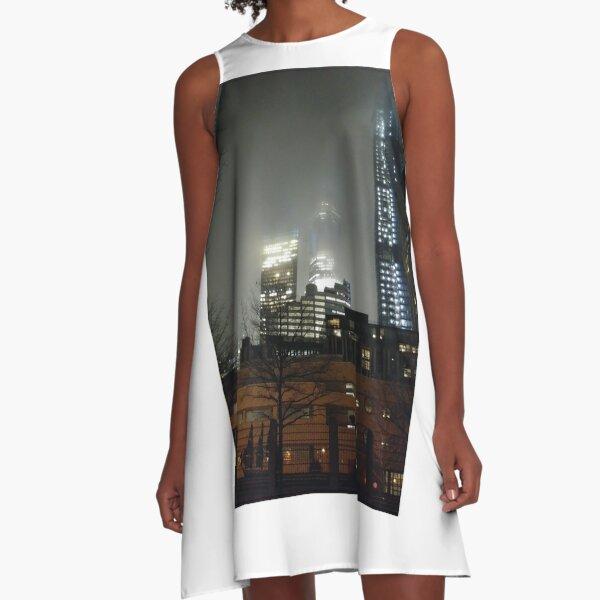 Metropolitan area A-Line Dress