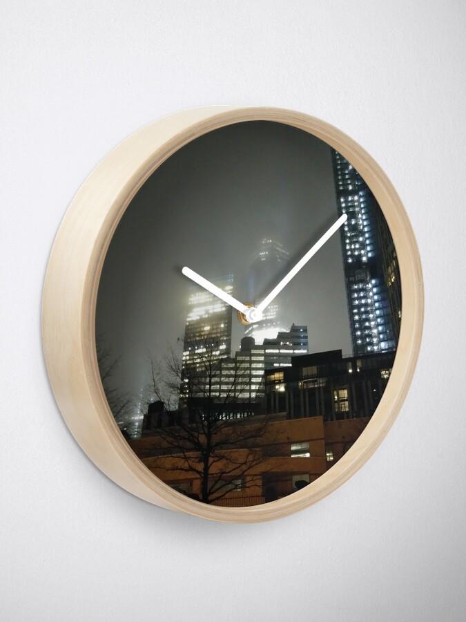 Alternate view of Metropolitan area Clock