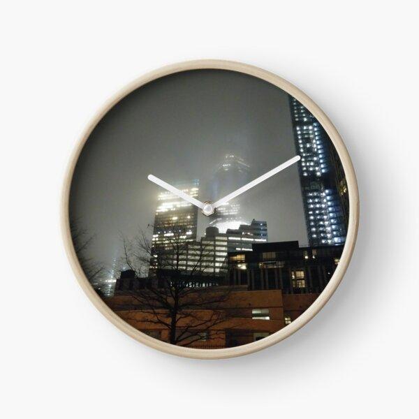 Metropolitan area Clock