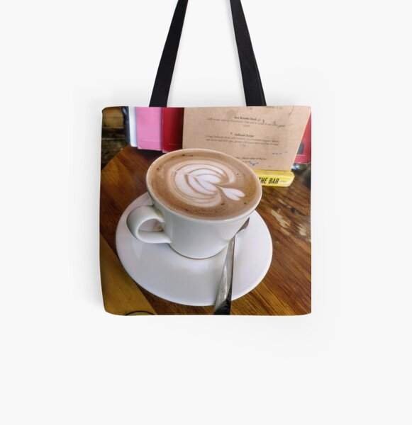 A cup of Mocha coffee All Over Print Tote Bag