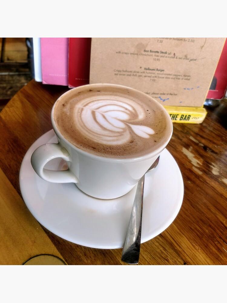 A cup of Mocha coffee by santoshputhran