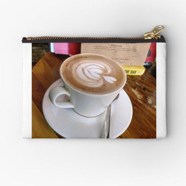 A cup of Mocha coffee Zipper Pouch