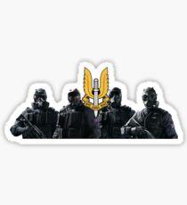 Rainbow Six Siege: SAS Operators Sticker