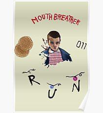 stranger things tv show Poster