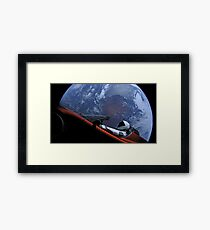 SpaceX's Starman Framed Print