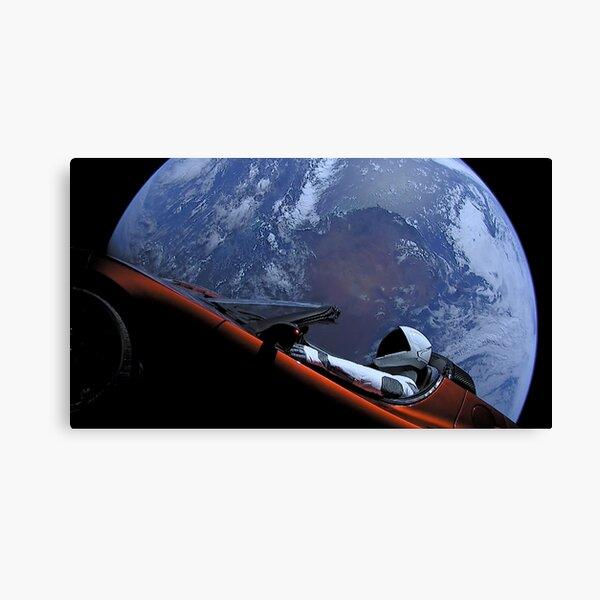 El SpaceX Starman Lienzo