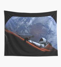 SpaceX's Starman Wall Tapestry