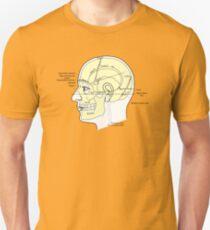Cranium Diagram Unisex T-Shirt