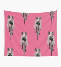 Pigcycle Wall Tapestry