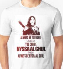 nyssa al ghul Unisex T-Shirt