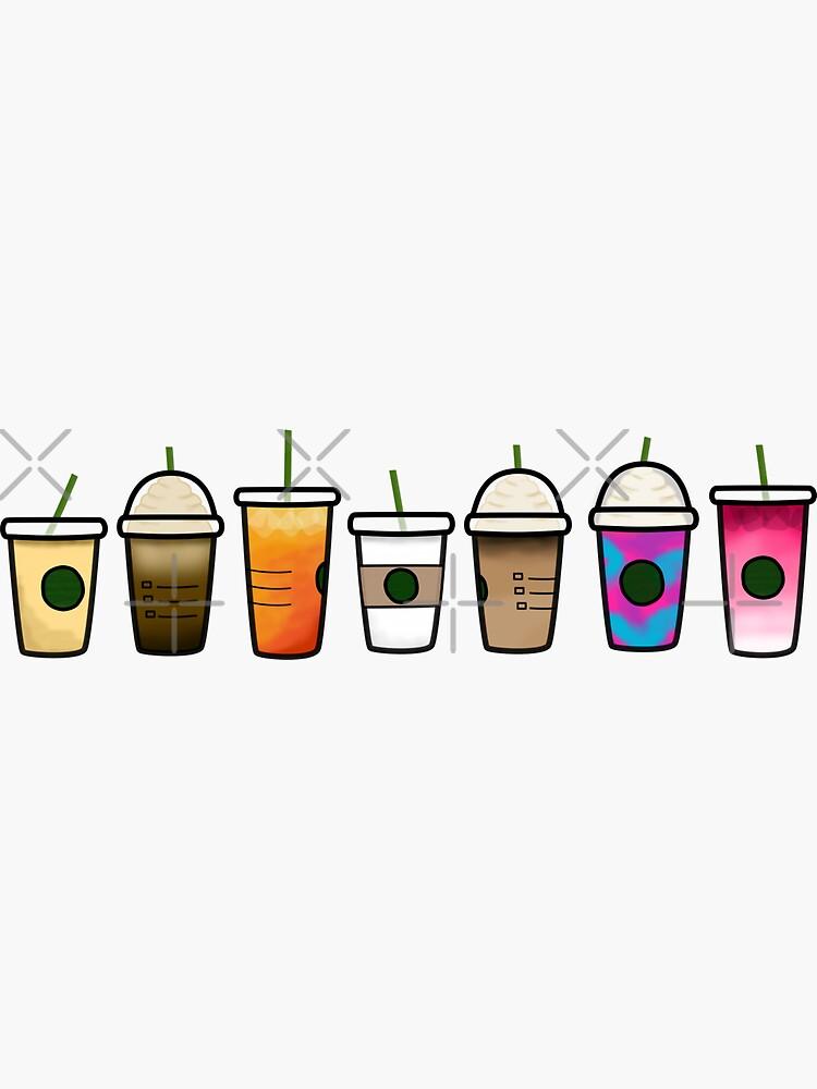 Mini starbucks drinks by abbyjane325