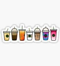 Pegatina Mini bebidas starbucks